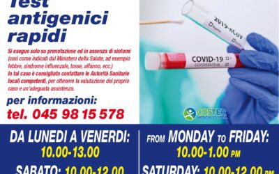 Test Antigenici Rapidi